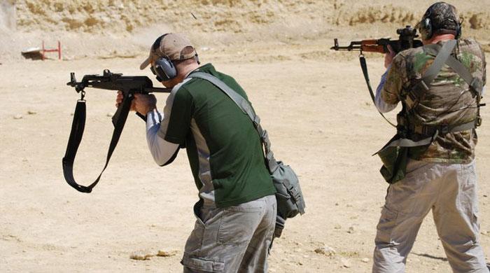Rifle Gunfighting