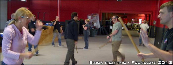 CTCTG Stick Fighting