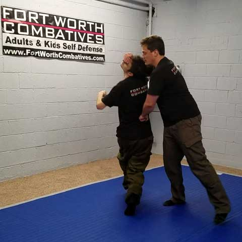 Hand to hand martial arts self defense training